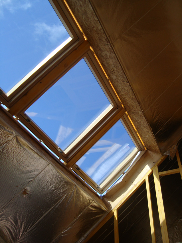 Glazed units for roof diynot forums for Roofing forum
