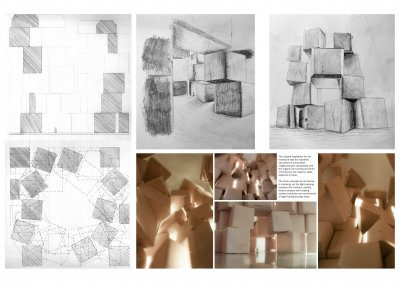University of Dundee architecture degree show