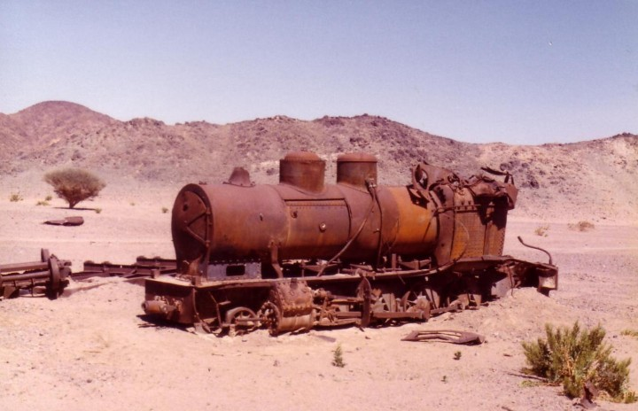 This train was bought by Lawrence of Arabia from the Springburn Works