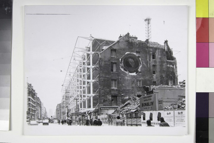 Gordon Matta-Clark Conical Intersect 1975