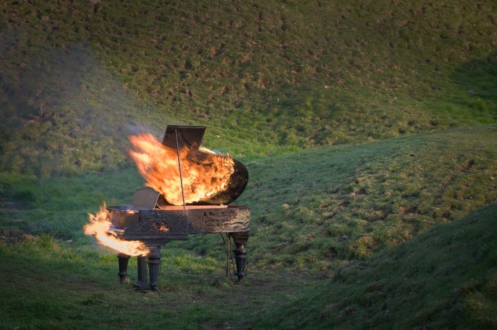 Douglas Gordon's Piano