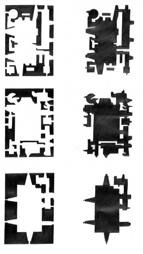 tower house plan pattern
