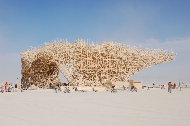 burning man festival structure
