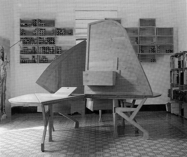 beautiful table by Enric Miralles