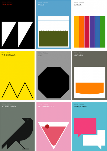 Simple Graphic Book Covers