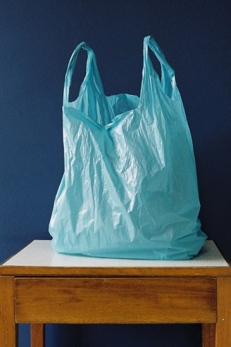 architecture of a plastic bag