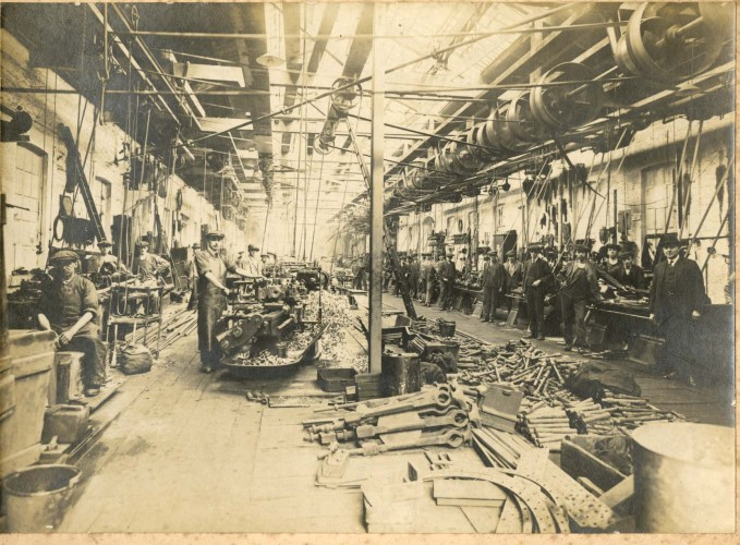 Railway Workshop 1923 Kilmarnock