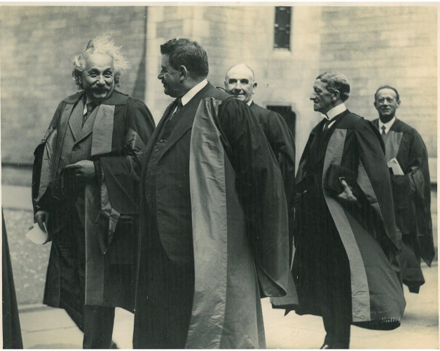 Einstein at Glasgow University