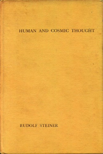 human cosmic thought