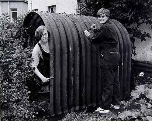 WW2 Anderson Shelter