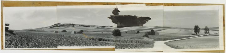 Hans Hollein aircraft carrier city in landscape