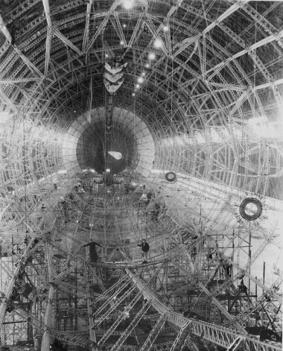 USS Akron Structure