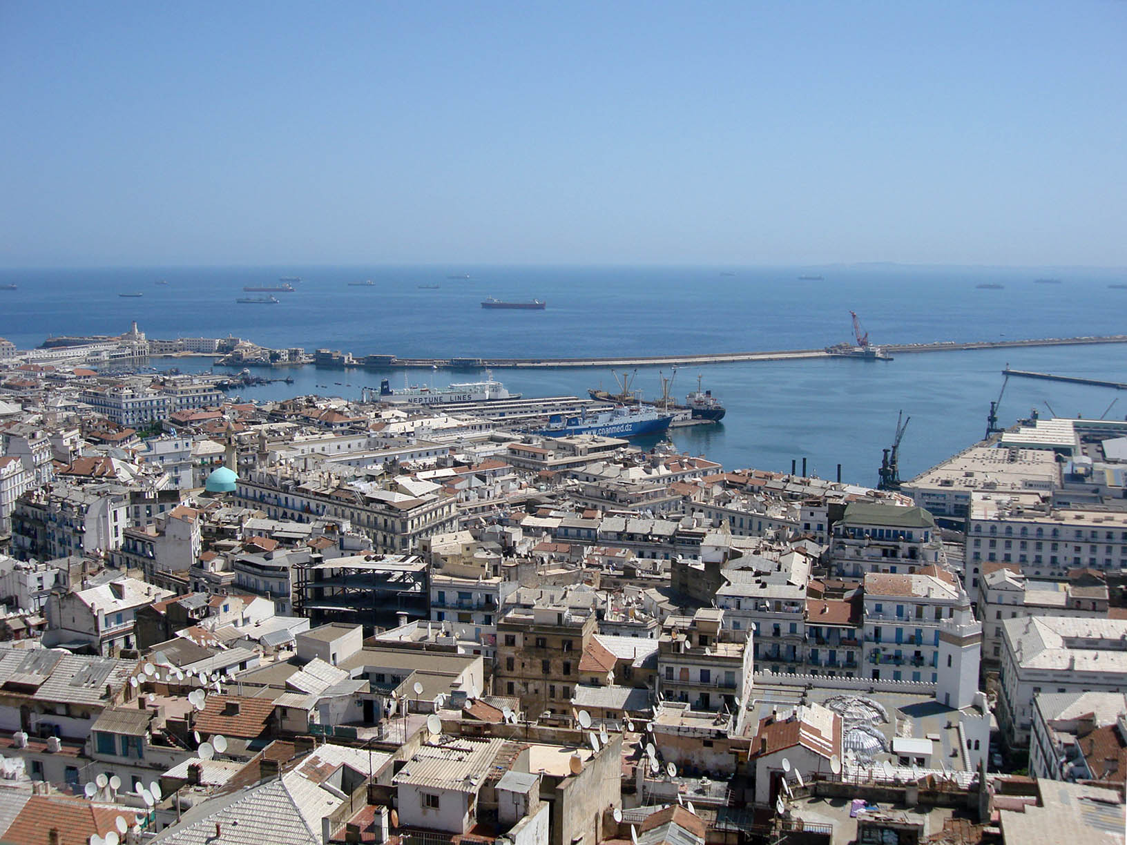 Algiers Historic Harbour & Casbah