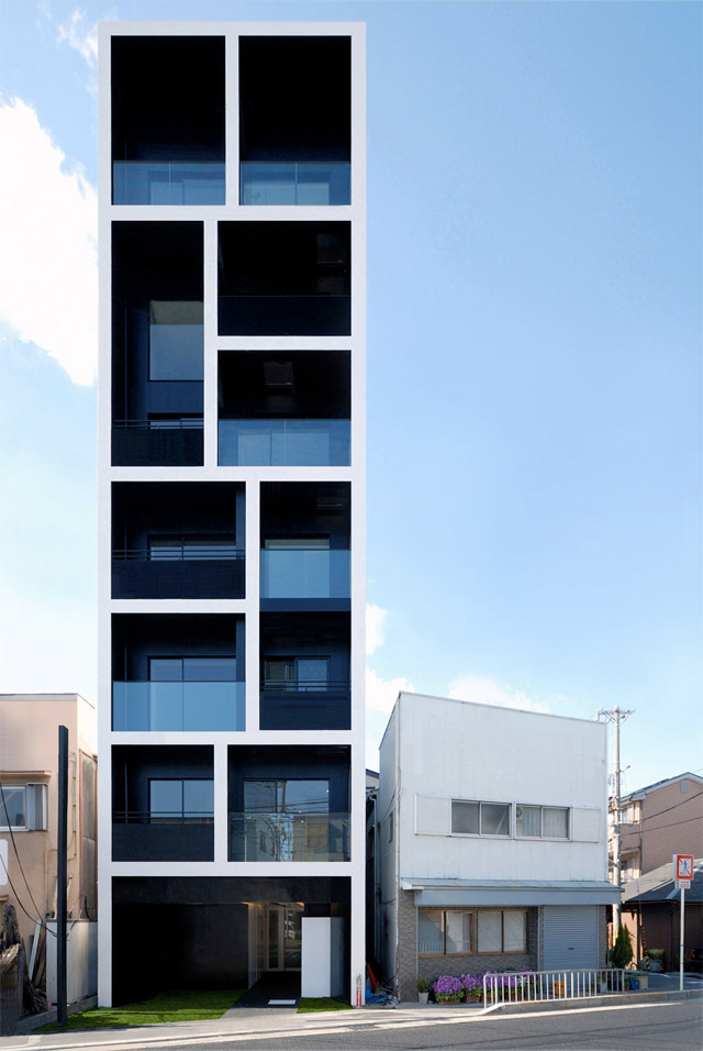 Cool Apartment Building In Katayama Japan