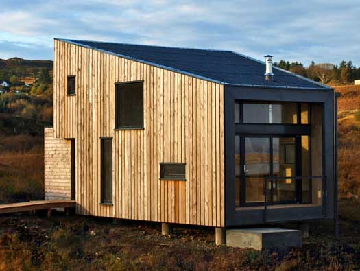 Fiscavaig house by rural design for Home designs rural
