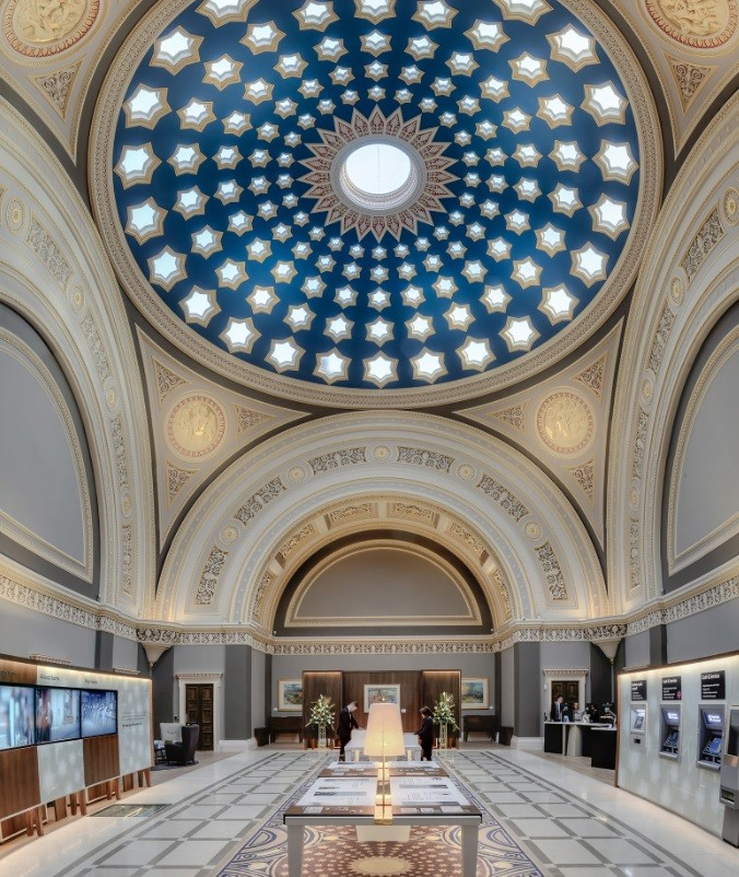 36 St Andrew Square Banking Hall Interiors And