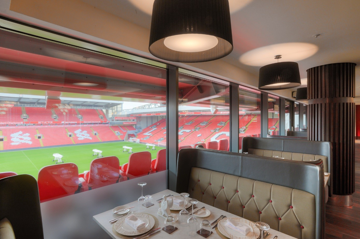 Anfield Stadium Vip Lounges Interiors And Exhibitions