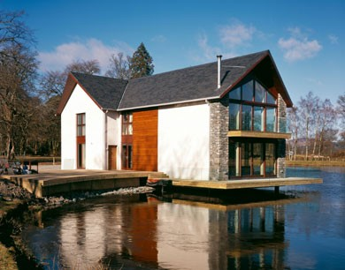 Loch house by killearn housing scotland 39 s new for The design home