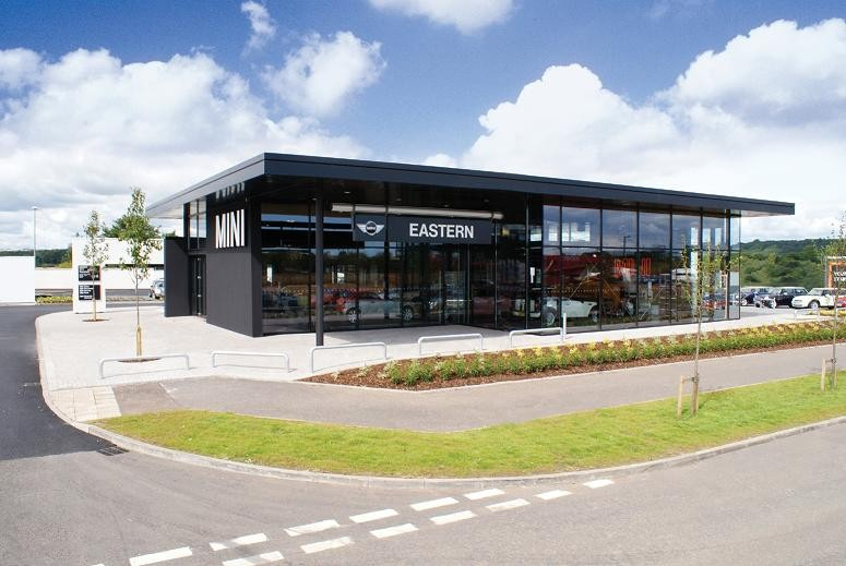 Western Auto Sales >> Mini Showroom : Retail/Commercial/Industrial : Scotland's New Buildings : Architecture in ...