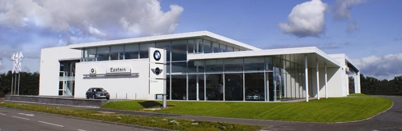 BMW Dealership RetailCommercialIndustrial Scotlands New Buildings Architecture In
