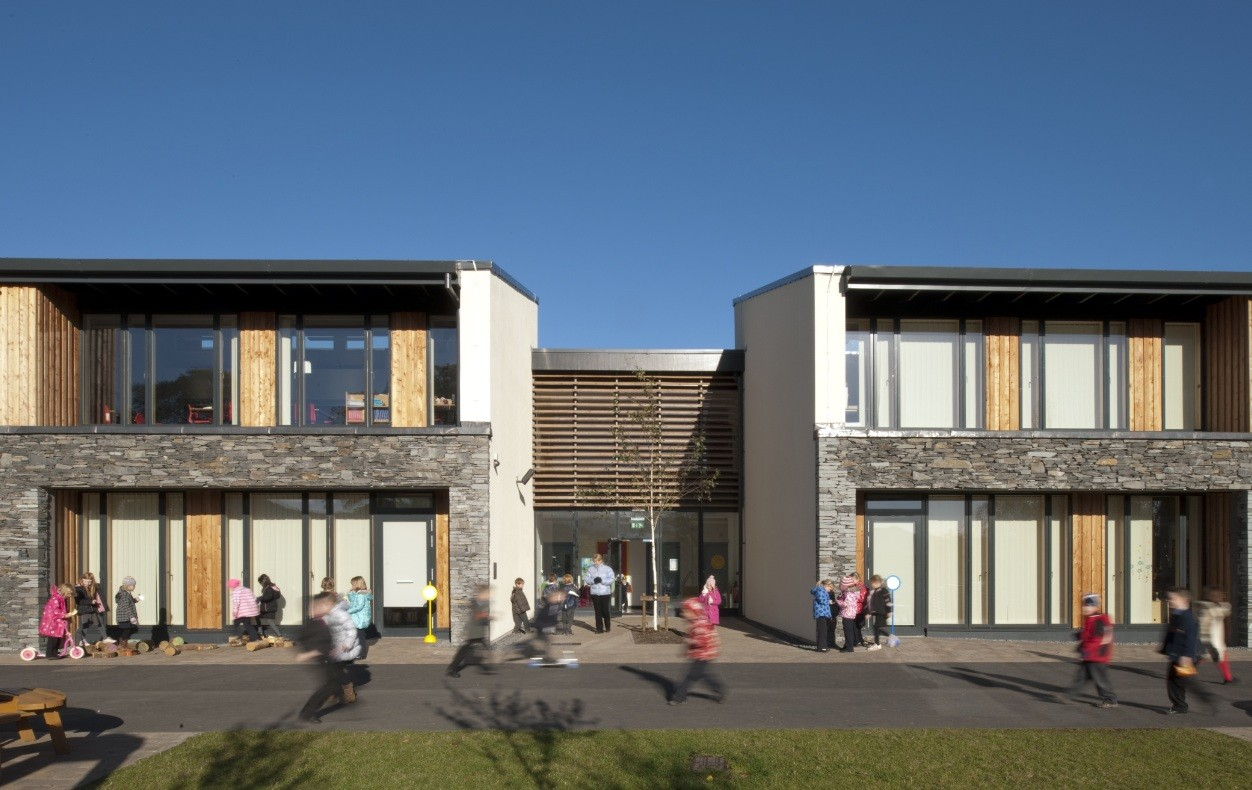 Home Front Elevation Jobs : Kingsland primary school education scotland s new