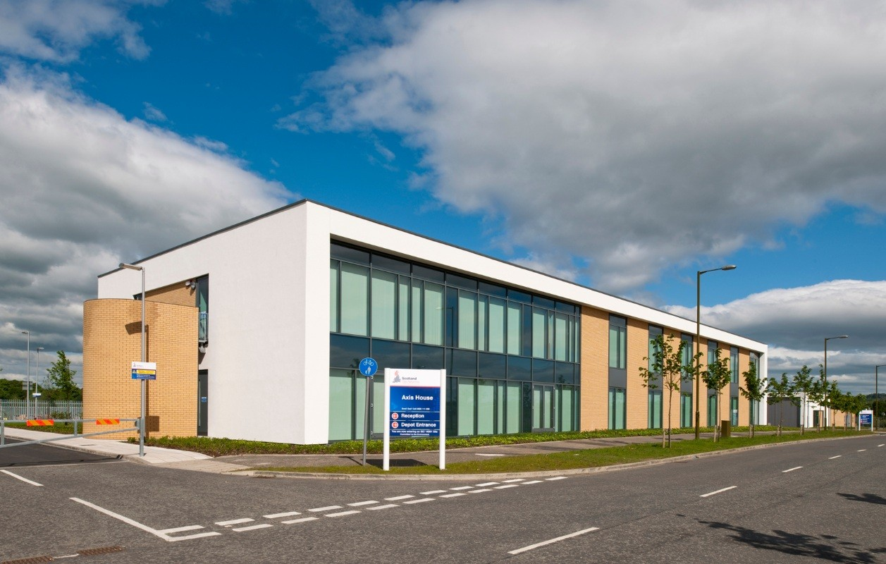 Axis Retail Commercial Industrial Scotland New Buildings Architecture Pro The