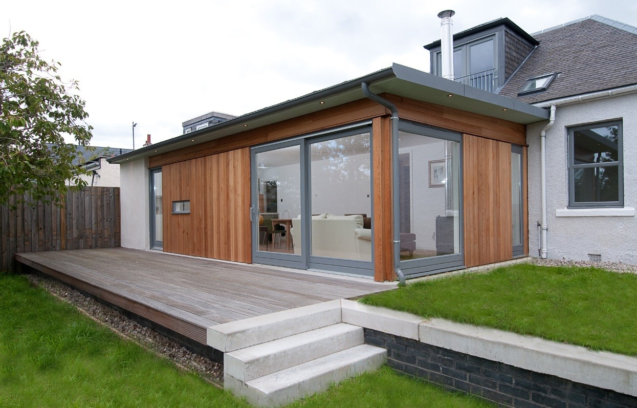 Hailes gardens housing scotland 39 s new buildings for Small house extension design