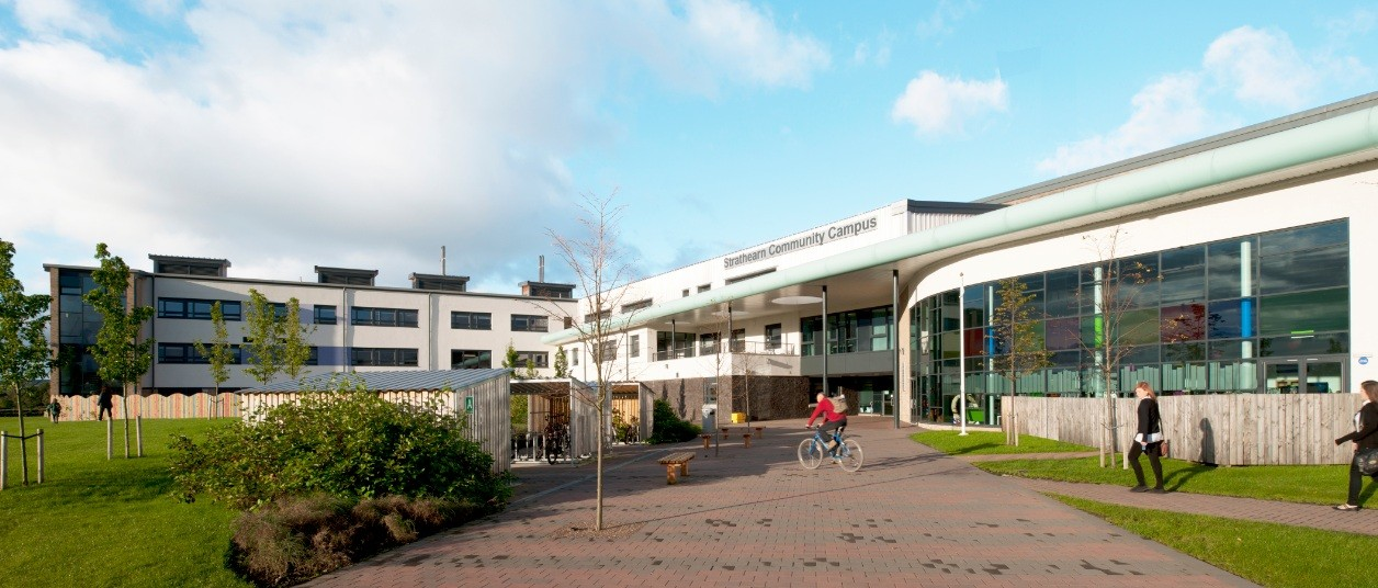 Strathearn Community Campus Education Scotland S New