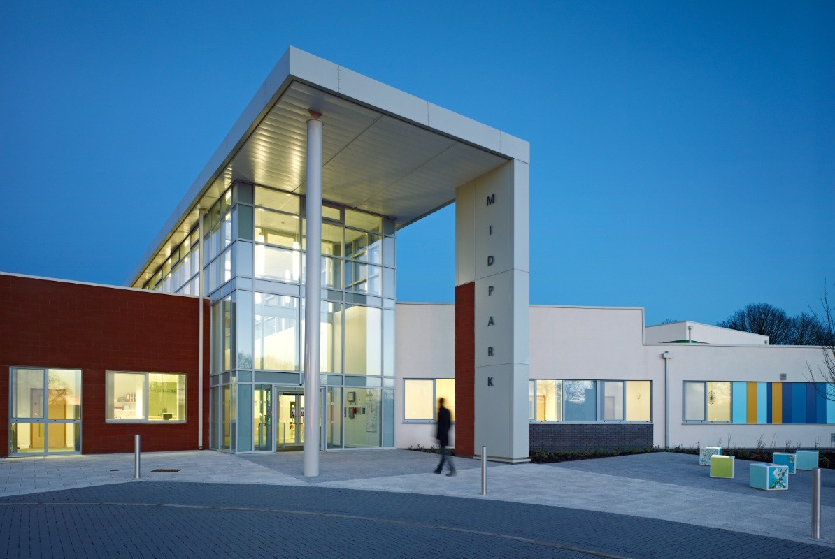 Midpark Hospital Health Scotland S New Buildings Architecture In Profile The Building