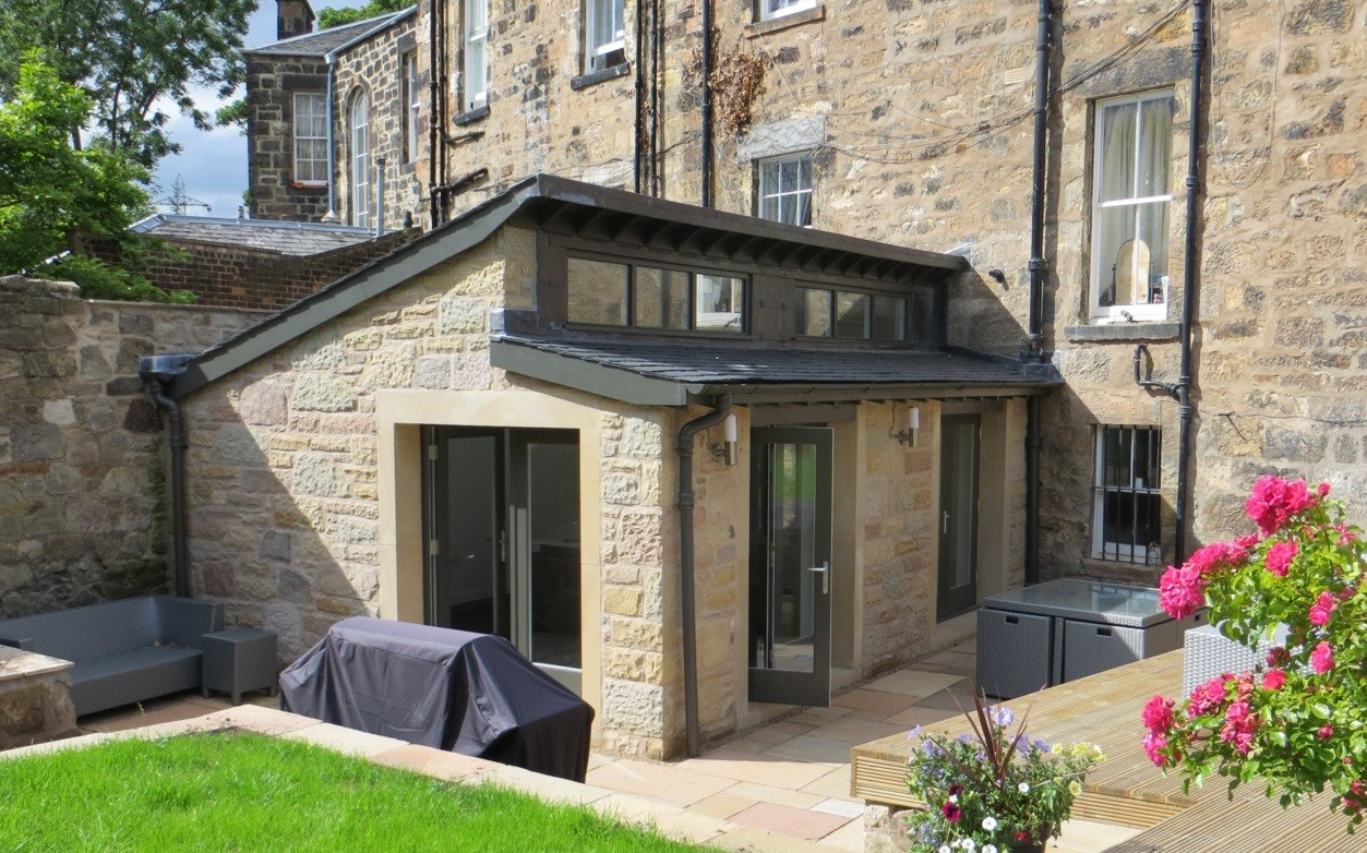 Portobello garden extension housing scotland 39 s new for Garden house extension