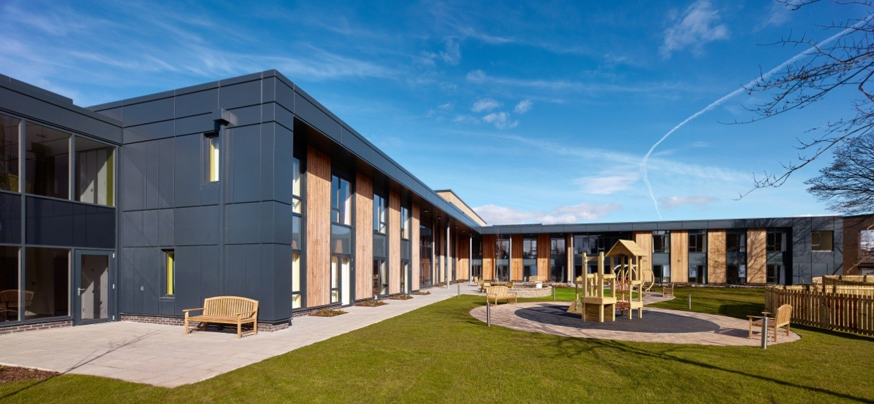 Mugdock house care home health scotland 39 s new Nursing home architecture