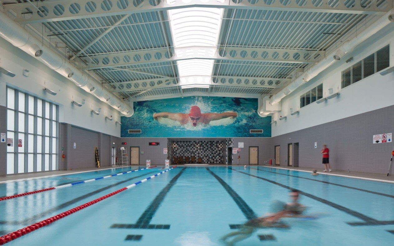 The lasswade centre education scotland 39 s new buildings architecture in profile the for Eastwood high school swimming pool