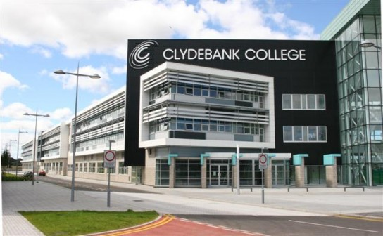 New College Campus For Clydebank College Education