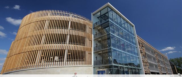 How To Buff A Car >> Multi-storey car park : Public : Scotland's New Buildings : Architecture in profile the building ...