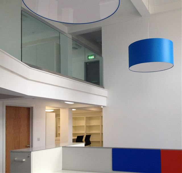 Operations office with mezzanine 2