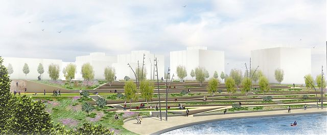 Pictures Sighthill Regeneration Masterplan Glasgow