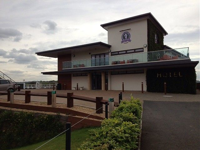 Entrance view from Country Club approach
