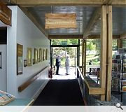 Dawyck Botanic Garden Visitor Centre and workshops