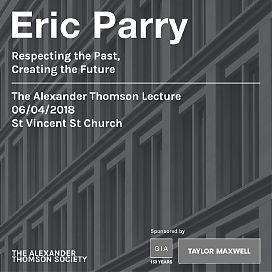 ATS Talks: Eric Parry - Respecting the Past, Creating the Future