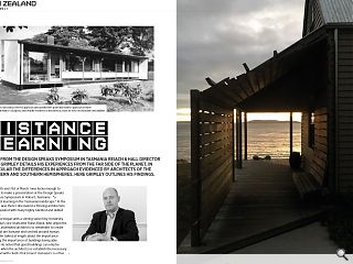 <p>Fresh from the design speaks symposium in Tasmania Reiach &amp; Hall  director James Grimley details his experiences from the far side of the  planet, in particular the differences in approach evidenced by  architects of the northern and southern hemispheres.</p>