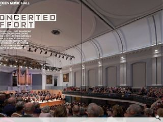 <p>Aberdeen Music Hall sits in harmony with its surroundings once more  following a much-needed overhaul at the hands of BDP. We sound out the  team behind its delivery and assess the wider implications for efforts  to rejuvenate Union Street. Photography by David Barbour</p>
