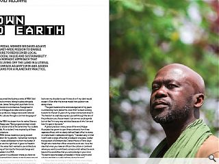 <p>RIBA Gold Medal winner Sir David Adjaye is on a global mission  to enable architecture to rediscover local context, social value and  sustainability through a nomadic approach that emphasises living off the  land in a literal sense. We unpack Adjaye&rsquo;s win and assess what it  means for a planetary practice.</p>