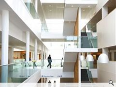 Reiach & Hall's Stobhill Hospital won this years Grand Prix award