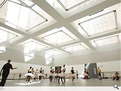 Scottish Ballet boasts the countries largest performance space