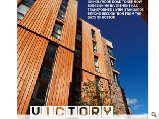 With the student housing boom showing no sign of abating we pop into the  University of Edinburgh's latest residences on Holyrood Road to see how  burgeoning investment has transformed living standards beyond  recognition from the days of bottom.