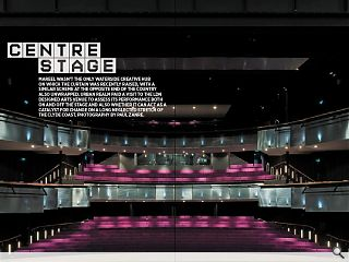 Mareel wasn't the only waterside creative hub on which the curtain was recently raised, with a similar scheme at the opposite end of the country also unwrapped. Urban Realm paid a visit to the LDN designed arts venue to assess its performance both on and off the stage and also whether it can act as a catalyst for change on a long neglected stretch of the Clyde coast. Photography by Paul Zanre.