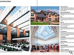 Ayr Campus (main picture) won plaudits for Balfour Beattie/Mansell