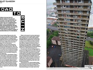 Flush from the success of the recent derelict Glasgow exhibition at the  Lighthouse Joe Shaldon sets out his stall for salvaging the city's  endangered buildings. With tower blocks becoming an endangered species  and tenement owners struggling with maintenance the issue of what to do  with our built fabric is as pressing now as it's ever been.