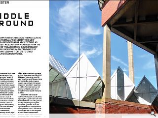 <p>Best known for its cheese and Premier League winning football team  Leicester is now building a reputation for architecture. As this modest  midlands town emerges from the shadow of its larger neighbours urbanist  John Lord undertakes a fact finding visit to see what lessons it offers  to other struggling secondary cities.<br /> &nbsp;</p>