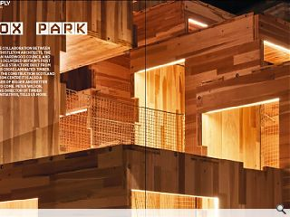 <p>A unique collaboration between Waugh Thistleton Architects, the American  Hardwood Council and arup has delivered Britain&rsquo;s first large scale  structure built from modular cross laminated timber. Built by the  Construction Scotland Innovation Centre it is also a harbinger of bigger  and better things to come. Peter Wilson, managing director of Timber&nbsp;  Design Initiatives, tells us more.</p>